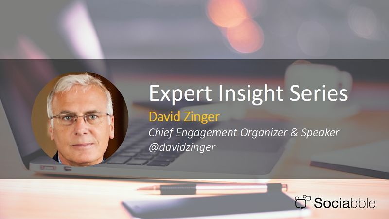 Sociabble and David Zinger Talk Employee Engagement