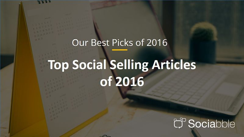 The Top Social Selling Articles of 2016