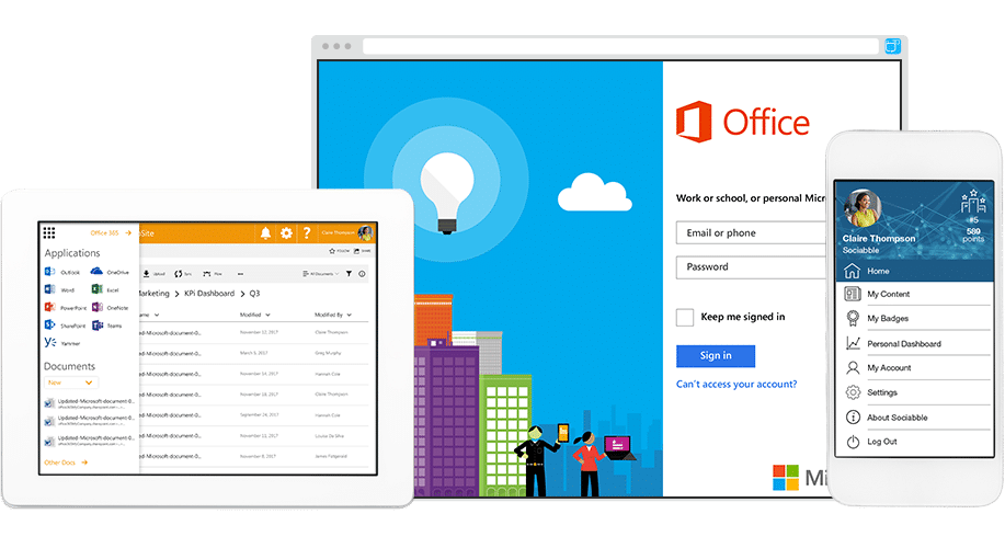sociabble office 365