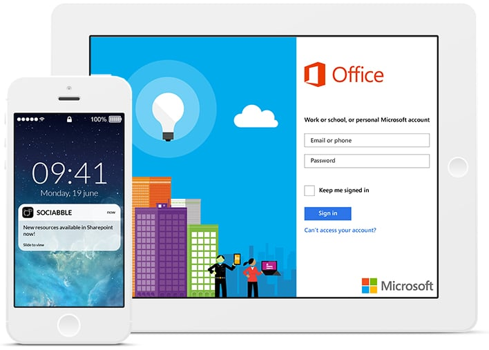 Office 365 marketing employee advocacy