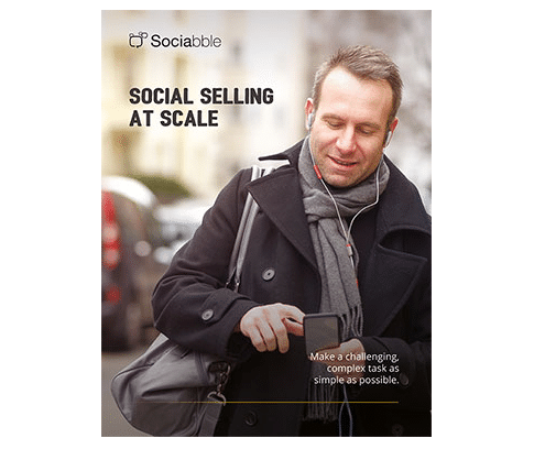 Sociabble Publication - White Paper Social Selling at Scale