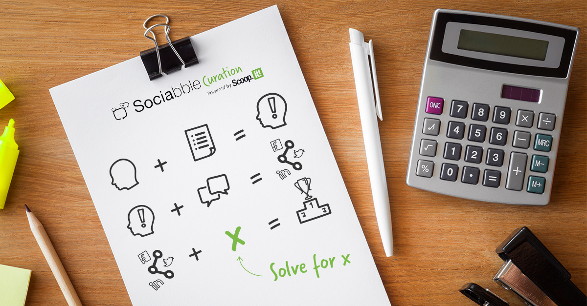 "Sociabble Curation Powered by Scoop.it solve for ""x"" equation"