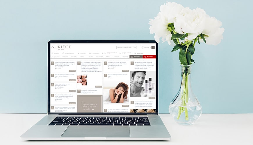 Auriege drive Social Selling and Social Recruitment with the Sociabble Brand Advocacy Platform