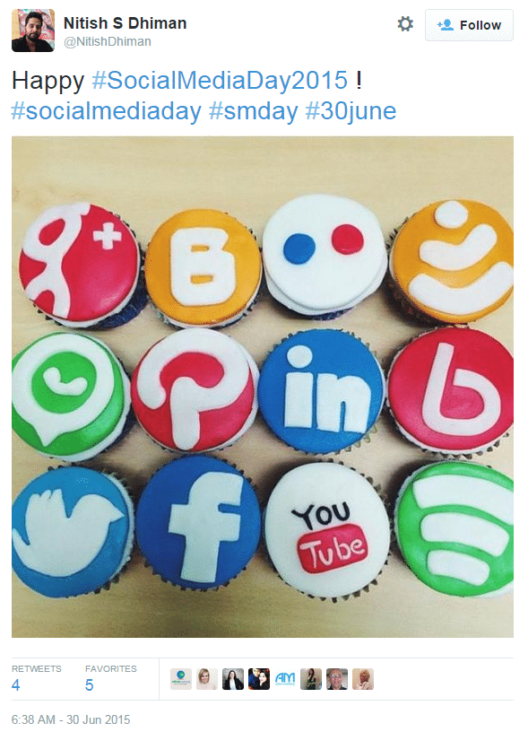 Our Top Tweets from #SocialMediaDay2015