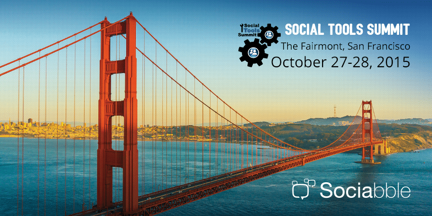 Sociabble at the Social Tools Summit, San Francisco