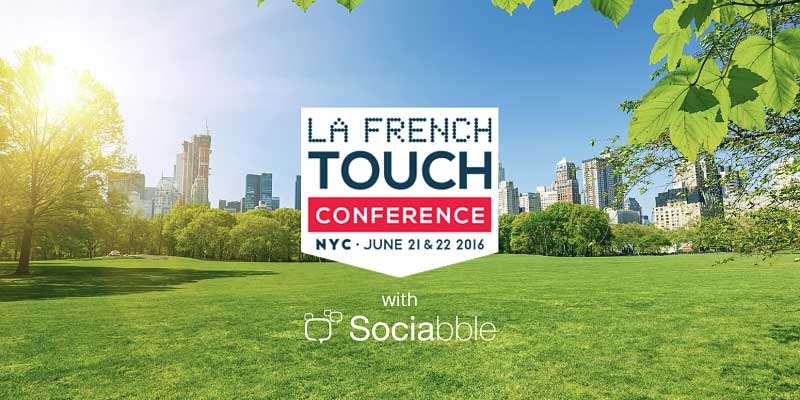 Sociabble Powers a Social Wall for the French Touch Conference in New York