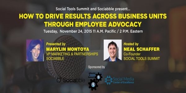 Upcoming Webinar: Driving Results Through Employee Advocacy