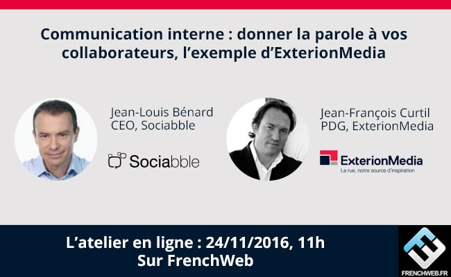 Webinar with Sociabble and ExterionMedia: How to Put Your Employees at the Heart of Internal Communication