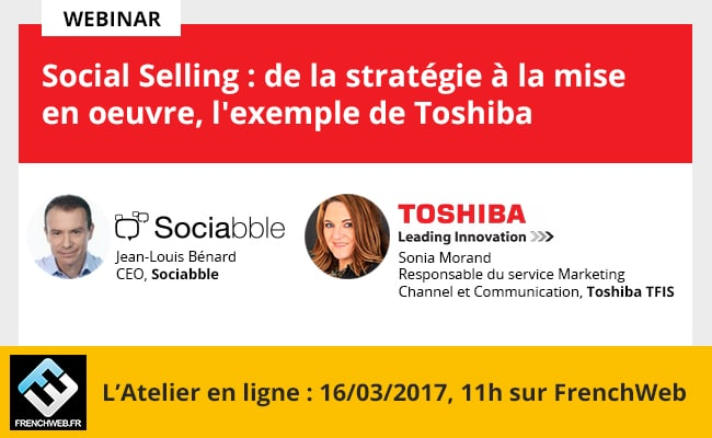 Webinar with Toshiba: Social Selling, from Strategy to Implementation