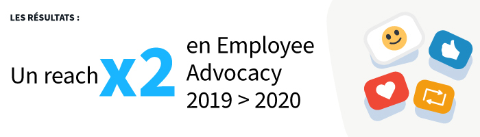 Exemple réussi d'employee advocacy