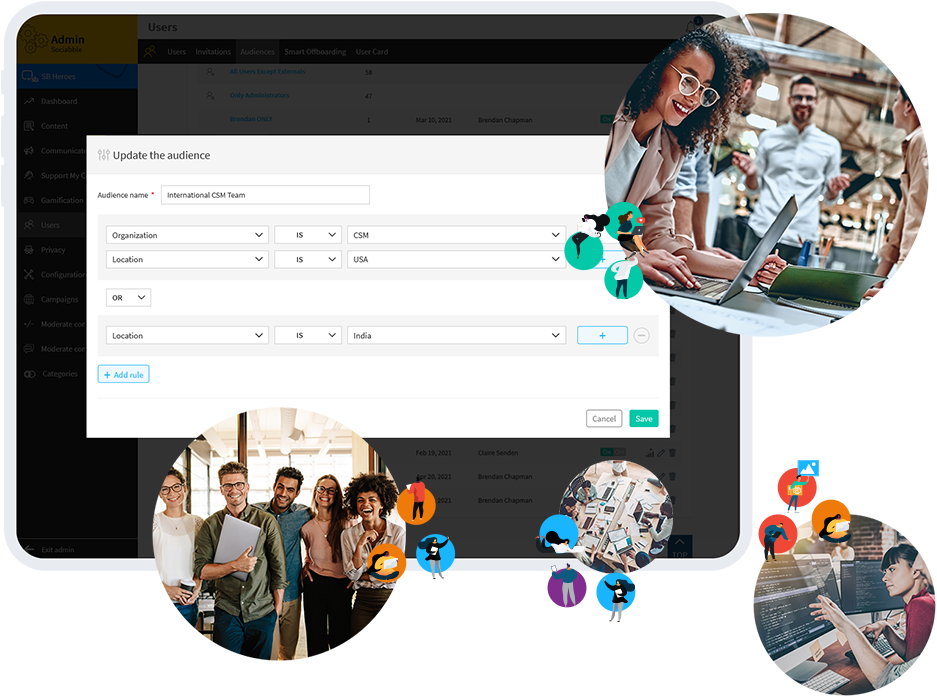 PERFECTLY CALIBRATED SEGMENTATION Harness the power of groups and Build audiences with pin-point accuracy