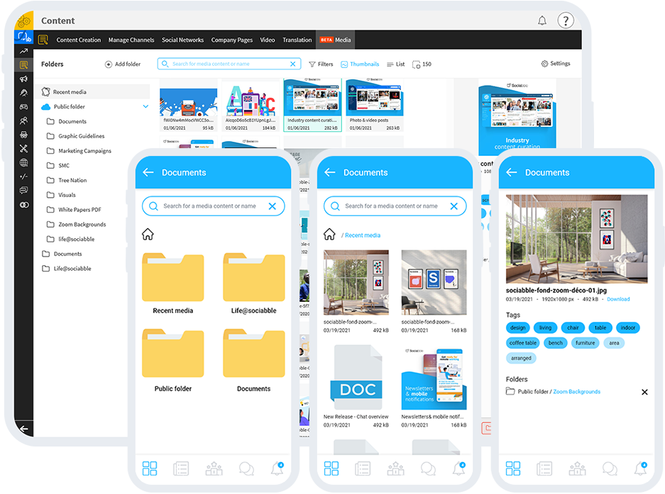 STREAMLINE PRODUCTION WITH SMART ASSET MANAGEMENT Wisely organize your content