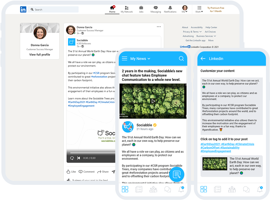 NATIVE ALTERNATIVE TO RESHARING Create and share native content