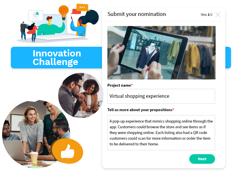 PROJECT CROWDSOURCING - Engage Employees in Co-Creation