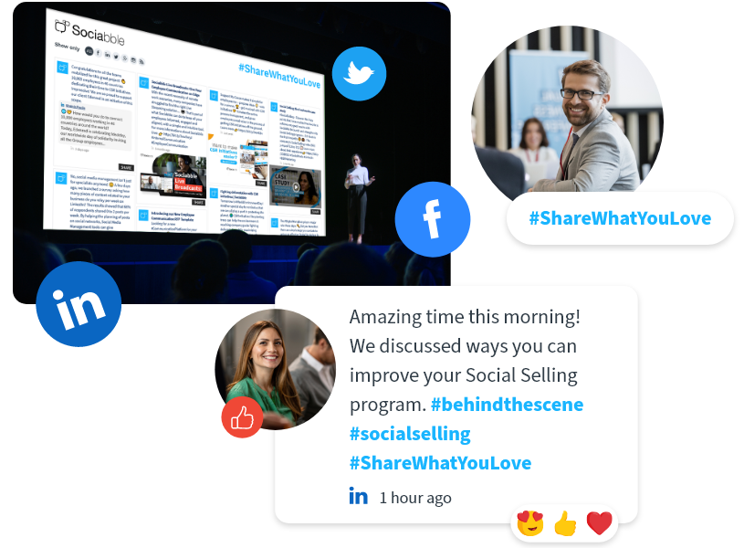 LIVE EVENTS - Showcase Social Media Content During Events