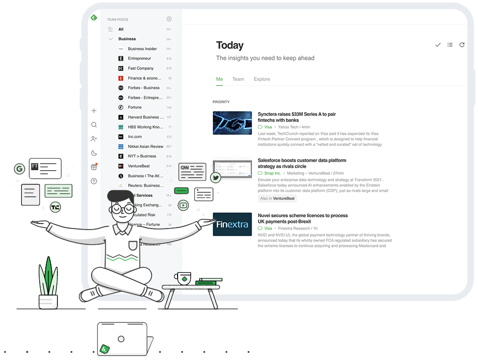 Sociabble Curation: Feedly Content Curation